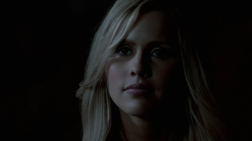 Close-up of Rebekah/Esther in the cave