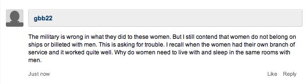 Rape comment