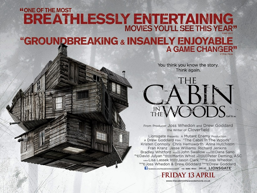 Cabin in the Woods Poster