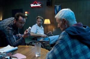 Boyd, Johnny and Arlo discuss Arlo's medication