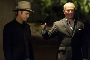 Raylan and Quarles pay a visit to Limehouse