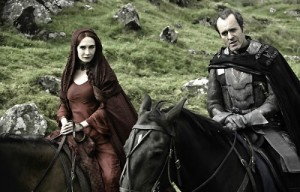 Melisandre and Stannis Baratheon