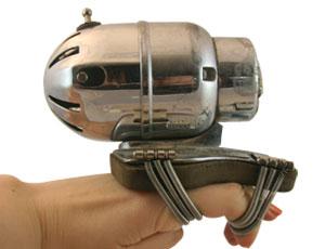 Device bondage clips
