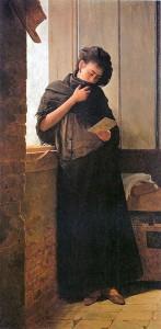 Saudade, by Almeida Júnior, 1899