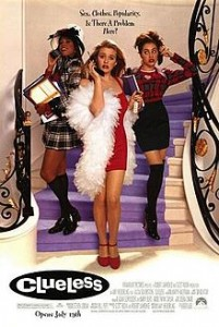 Theatrical release poster for Clueless