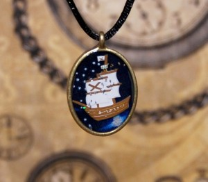 space pirate pendant