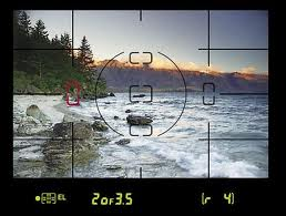 A photo of the what a view finder looks like.