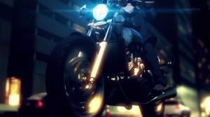 Saber neat motorcycle