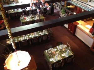 Pic of the dining room at herbfarm