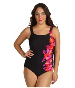 pic of miraclesuit happy place sideswipe swimsuit
