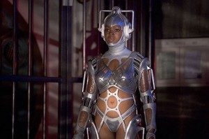 Lisa as Cyberwoman