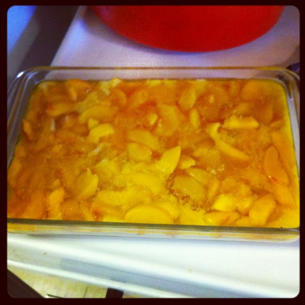 Picture of Peach Cobbler