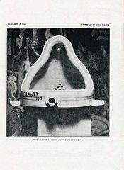 Duchamp - Fountaine