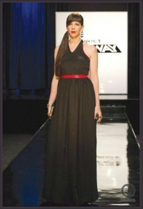 Project Runway Season 10 dress designed by Alicia and Raul for former contestant Mila.