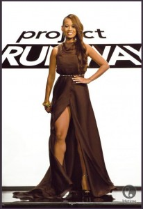 Project Runway Season 10 dress designed by Andrea and Christopher for Anya