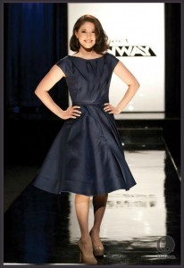 Project Runway Season 10 dress designed by Fabio and Ven for Kenley. This is the winning dress.