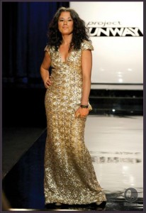 Project Runway Season 10 dress designed by Nathan and Sonjia for Valerie.
