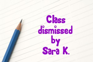 Sharp blue pencil on lined paper with space to place your message or text between the lines