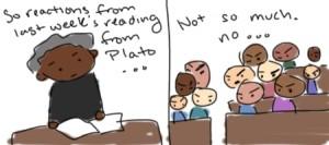 My Philosophy of Art class on Plato