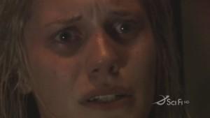 Closeup on Kara - she looks sad and scared.