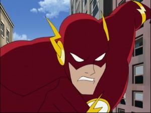 Cartoon image of The Flash