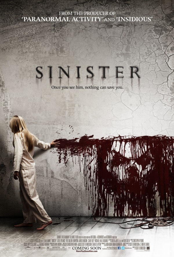 Sinister movie poster