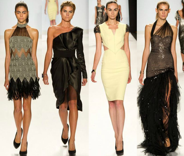 Dmitry designs Project Runway season 10 finale Mercedes Benz Fashion Week New York