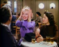 Screencap of Marilyn Monroe from Gentlemen Prefer Blondes