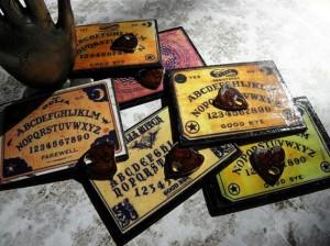 Miniature Ouija Boards