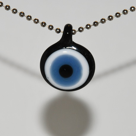 blue eye pendant