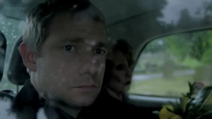 Sherlock 2x03 The Reichenbach Fall - John Watson and Mrs. Hudson