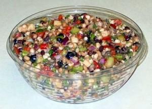 Bowl of Texas Caviar as described in the recipe