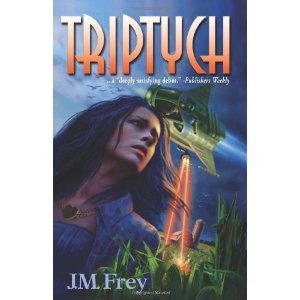Cover of Triptych by J.M. Frey