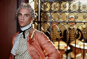 John Malkovich as Valmont.