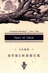 East of Eden by John Steinbeck (cover)
