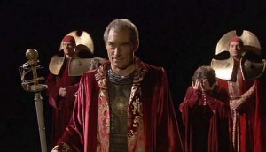 Doctor Who: The End of Time (Timothy Dalton in an amazing timelord gown)