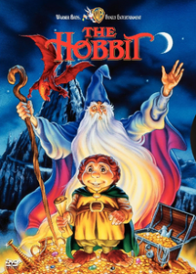 Cover of the Hobbit cartoon movie