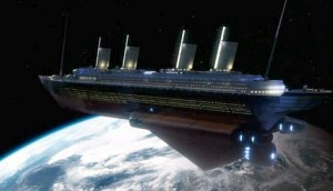 Doctor Who: Voyage of the Damned (Titanic space ship)