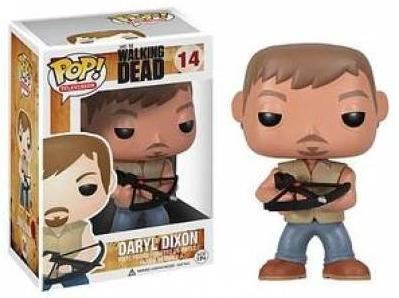 box and bobblehead of Daryl from The Walking Dead holding a crossbow