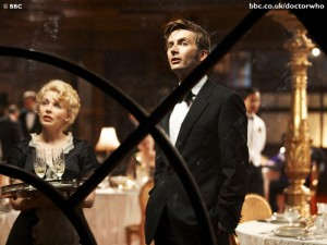 Doctor Who: Voyage of the Damned (Ten in a tuxedo and Astrid)