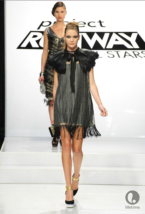 Project Runway All Star Anthony Ryan's1920s look from episode 2x08.
