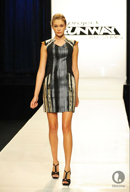 Project Runway All Star Anthony Ryan's look for the episode 2x09 ready to wear challenge.