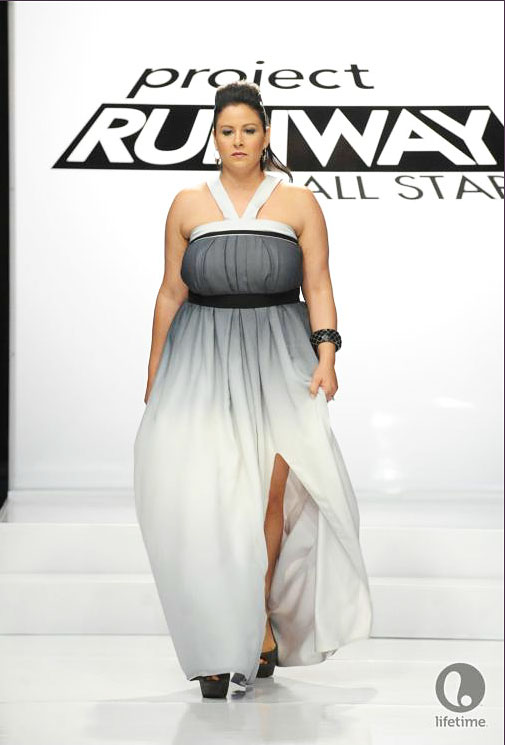Project Runway All Star Anthony Ryan's look for episode 2x10.