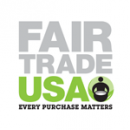 Fair Trade USA logo: Every Purchase Matters