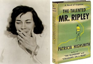 Patricia Highsmith in 1962 - Talented Mr. Ripley US 1st Edition