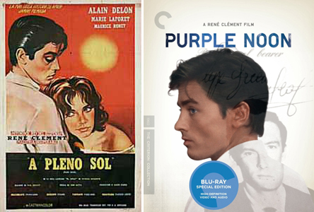 Plein Soleil/Purple Noon Poster and DVD cover