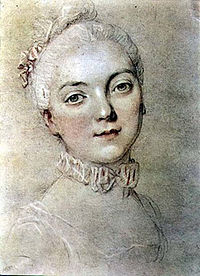 Drawing of Madame du Barry
