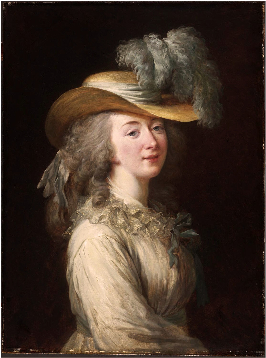 Oil painting of Madame du Barry