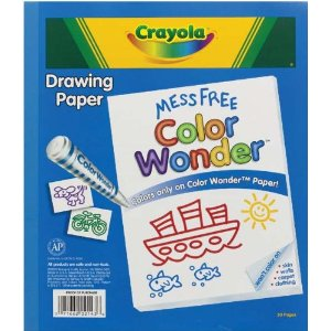 Crayola Mess Free Color Wonder drawing paper