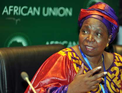 African Union chairperson Nkosazana Dlamini-Zuma